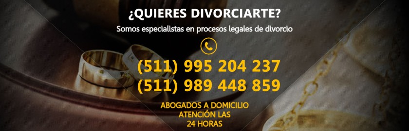 Divorcios en Perú